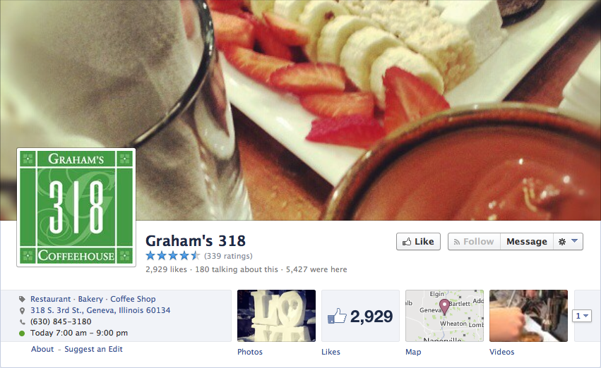 graham's Facebook page